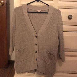 Gap XS/S 3/4 length sleeve Cardigan